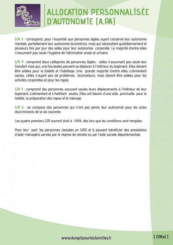 C29 a allocation personnalisee d autonomie apa verso