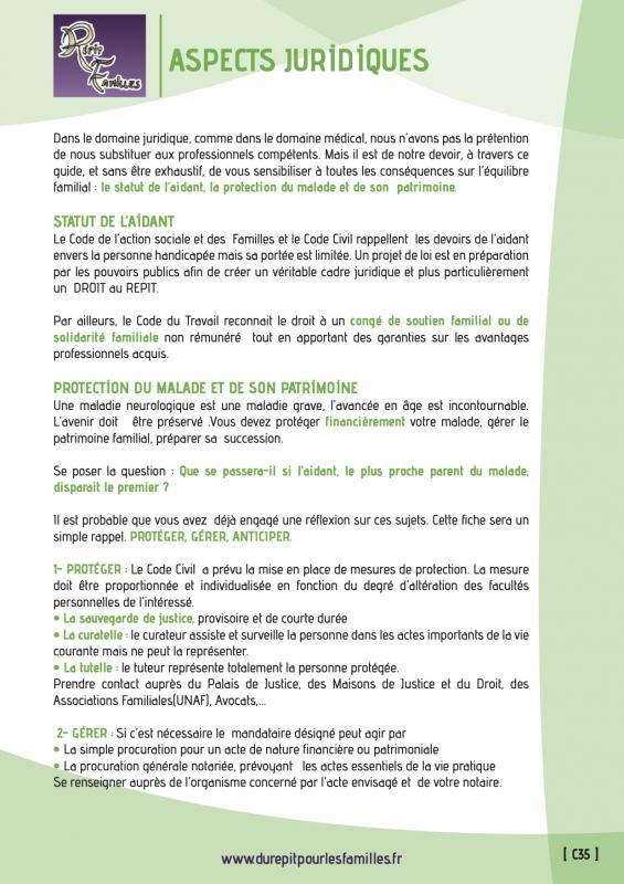 C35 aspects juridiques recto