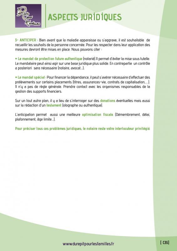 C35 aspects juridiques verso