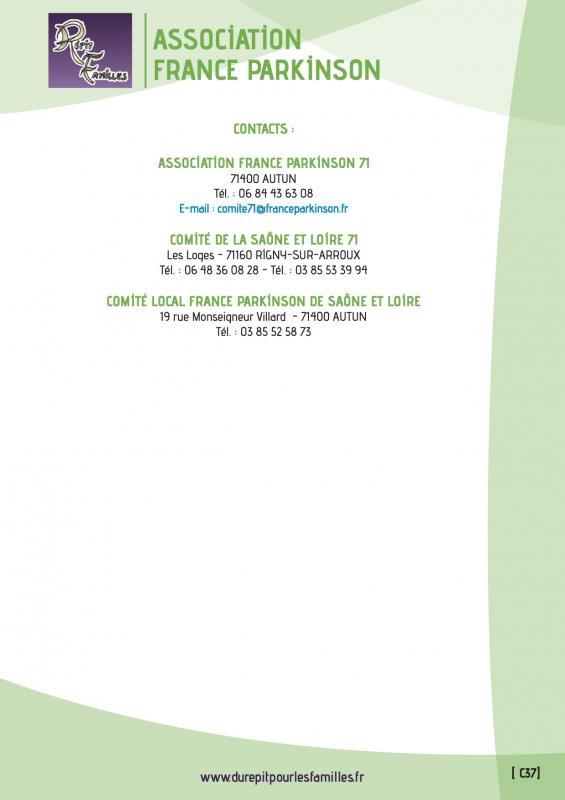 C37 association france parkinson fin