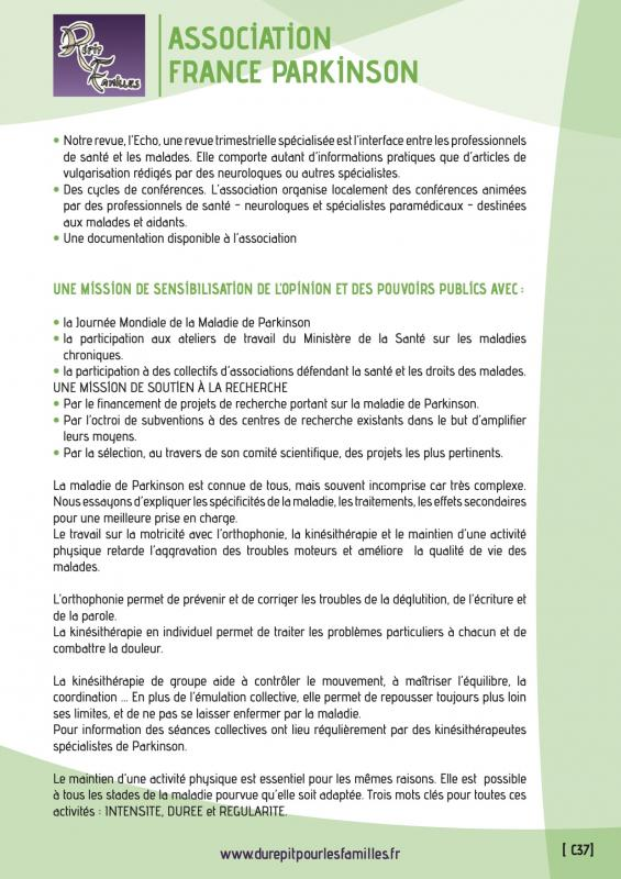 C37 association france parkinson verso 1